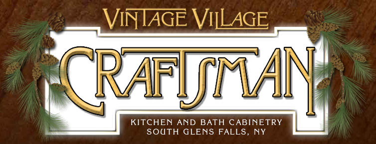 Custom Kitchen and Bathroom Cabinetry by Vintage Village Craftsman