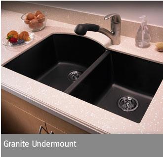 Swanstone Granite Undermount Sinks