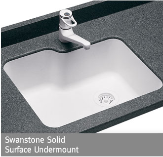 Awesome Swanstone Solid Surface Undermount Sink